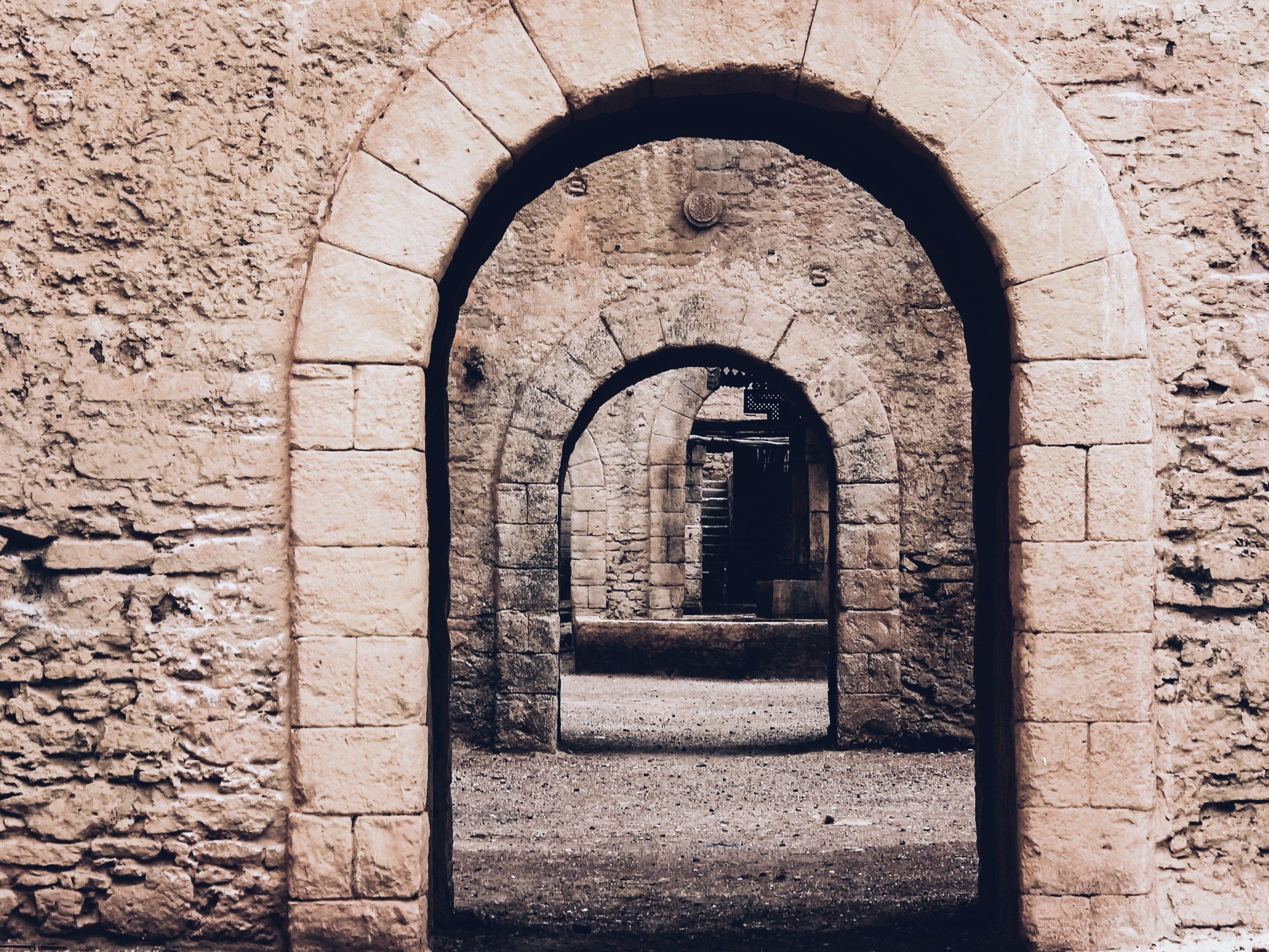 Old stone arch