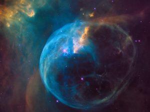 NGC 7635: The Bubble Nebula : NASA, ESA, Hubble Heritage Team (STScI / AURA) 2016 April 22