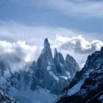 Snow covered mountains/ Patagonia