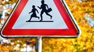 Road sign; Children Playing