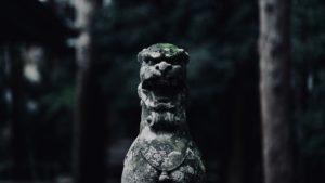 Komainu/guardian dog