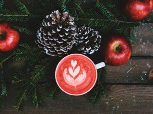 Cozy Christmas coffee ; Leto Caffe, London, United Kingdom