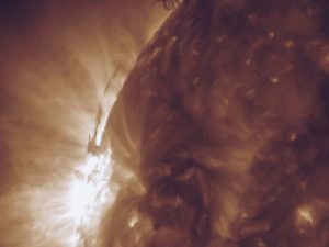 Plasma Push and Pull; NASA/GSFC/Solar Dynamics Observatory Date Created: 2015-06-30