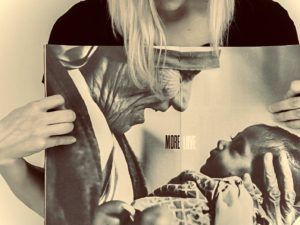 More Love magazine/ Mother Teresa holding baby ; United Kingdom