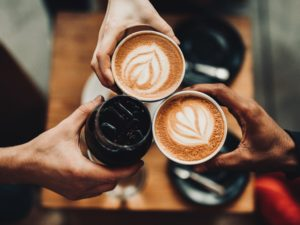 The essentials of a good conversation; Verve Coffee, Los Angeles, United States